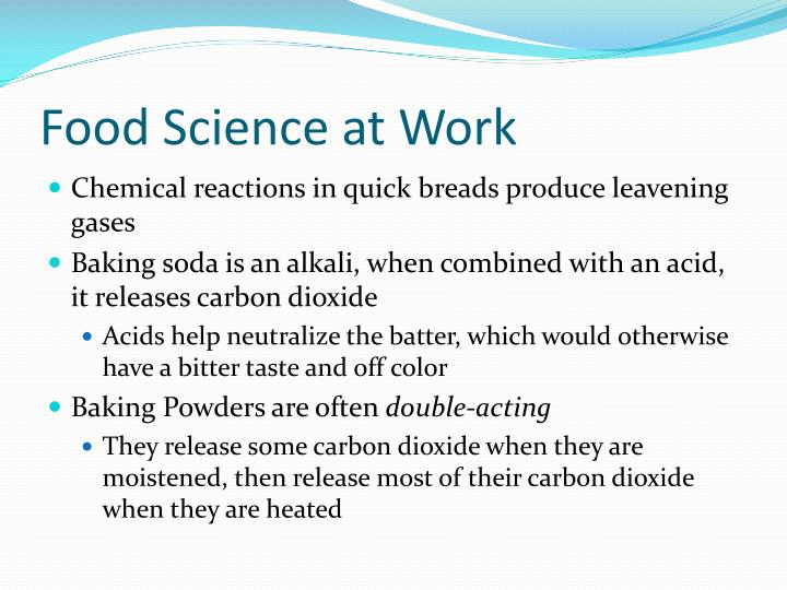 Food Science at Work