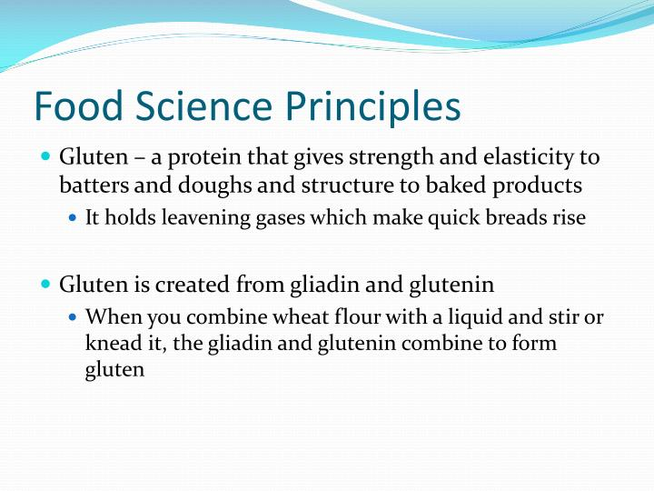 Food Science Principles