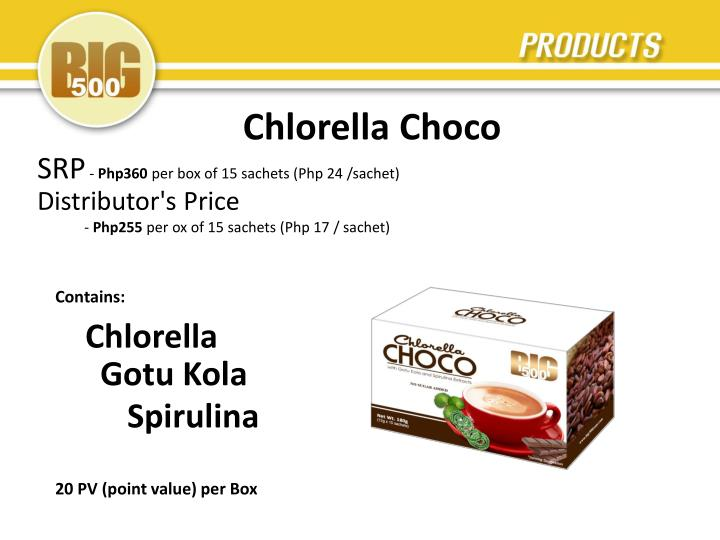 Chlorella Choco