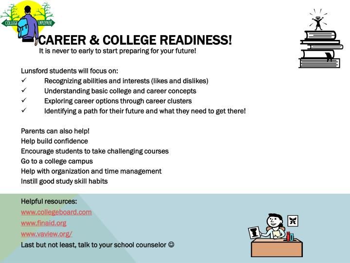 Career & College Readiness
