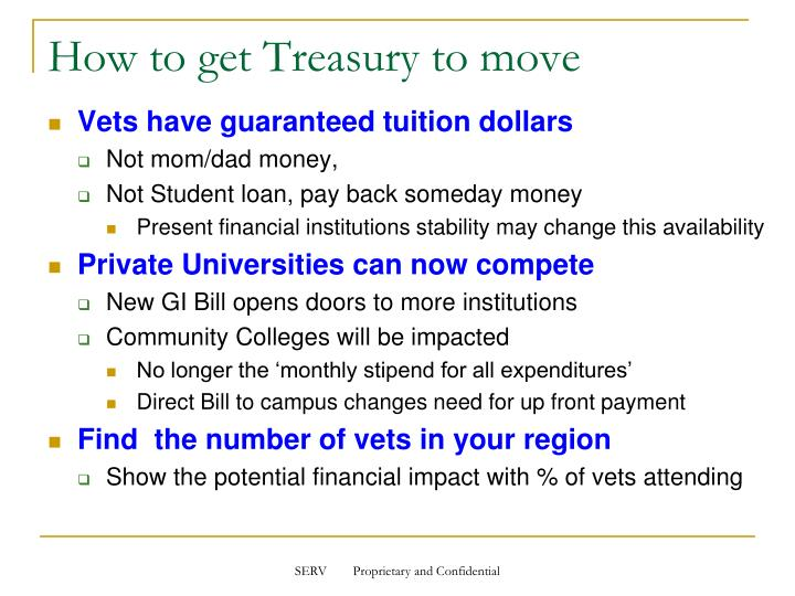 How to get Treasury to move