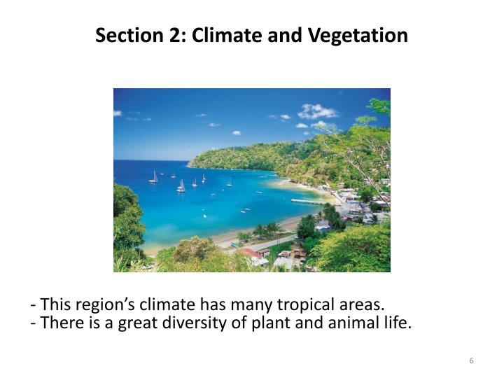 Section 2: Climate and