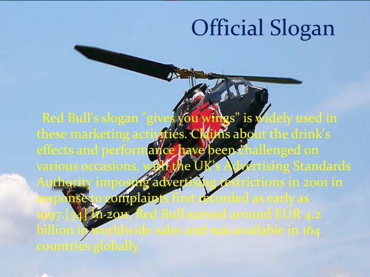 Official Slogan