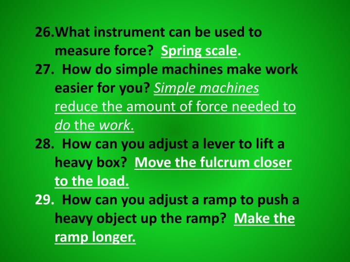 What instrument can be used to measure force?