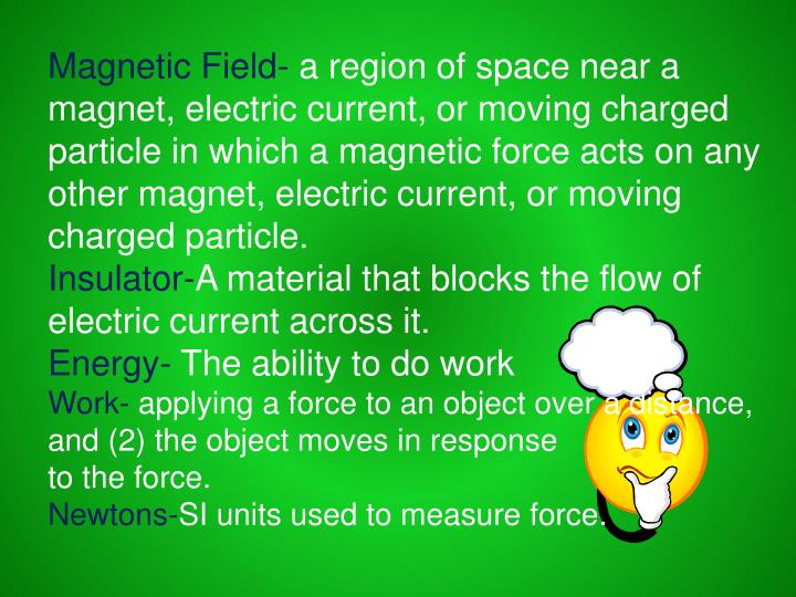 Magnetic Field-