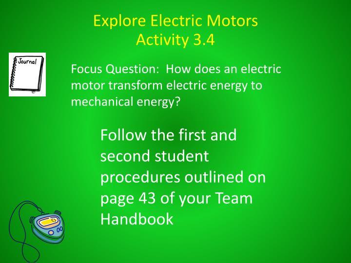 Explore Electric Motors