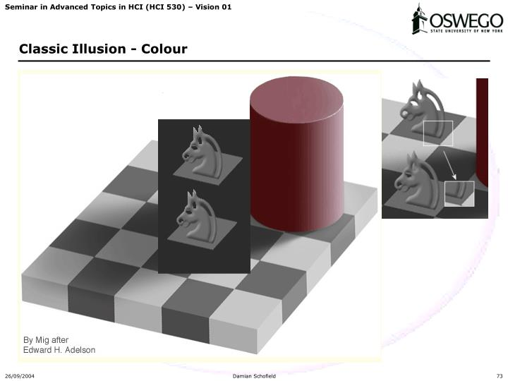 Classic Illusion - Colour