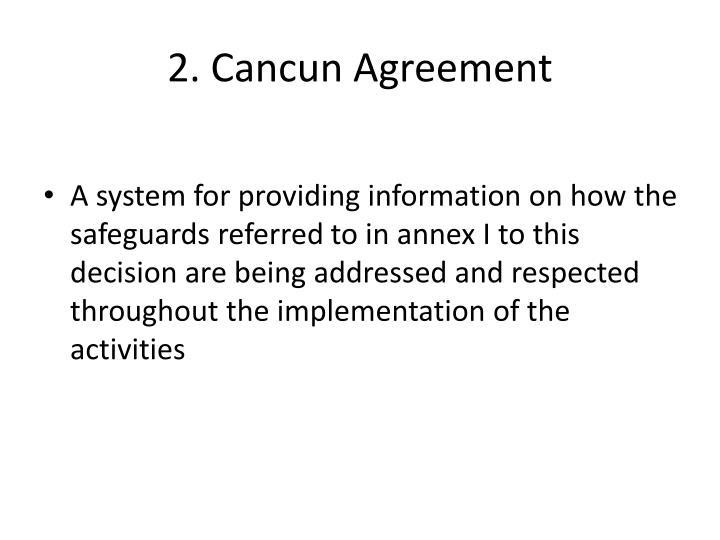 2. Cancun