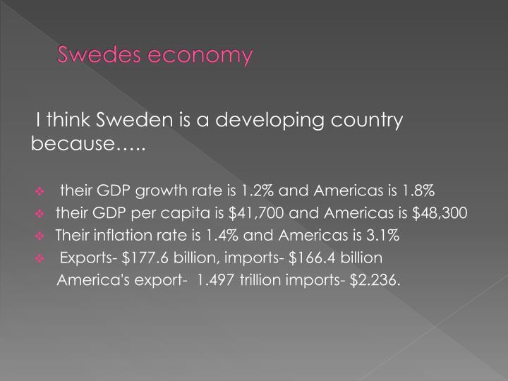 Swedes economy