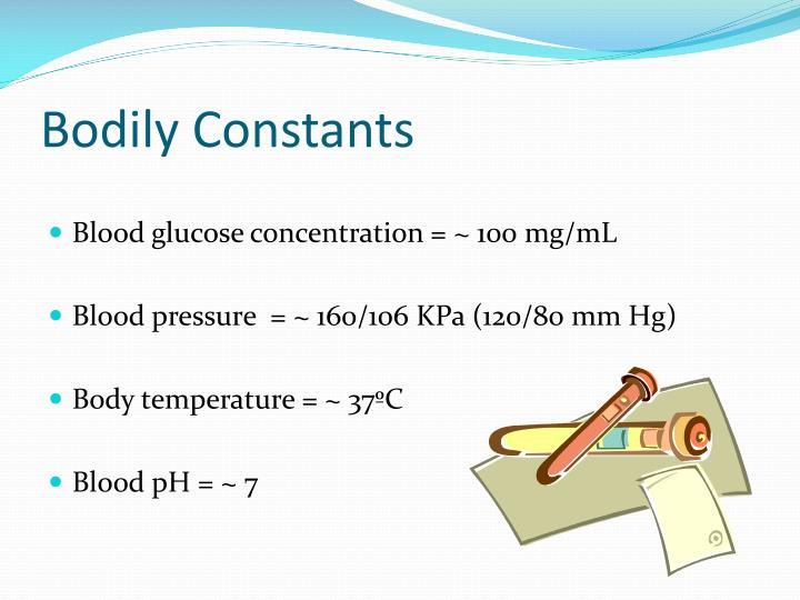 Bodily Constants
