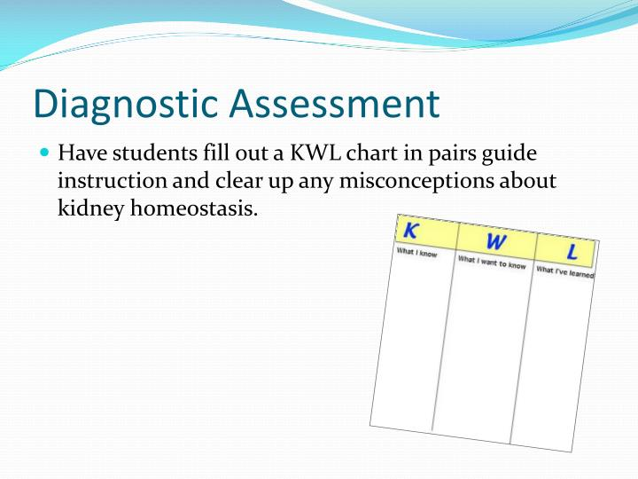 Diagnostic Assessment