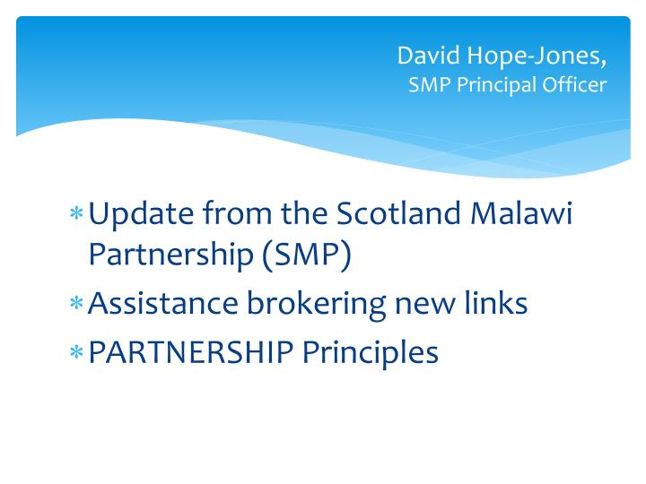 David Hope-Jones,