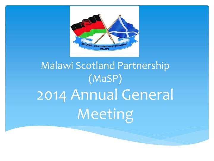 Malawi Scotland Partnership (