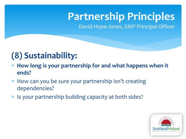 Partnership Principles