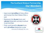 the scotland malawi partnership our members2