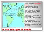 d the triangle of trade