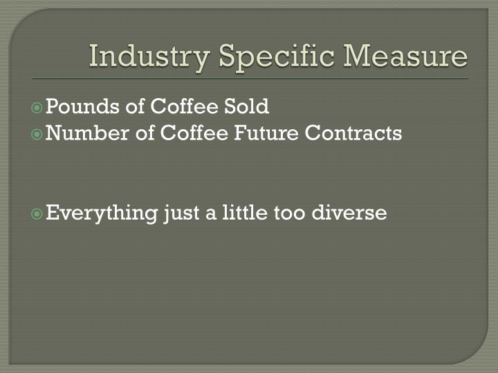 Industry Specific Measure