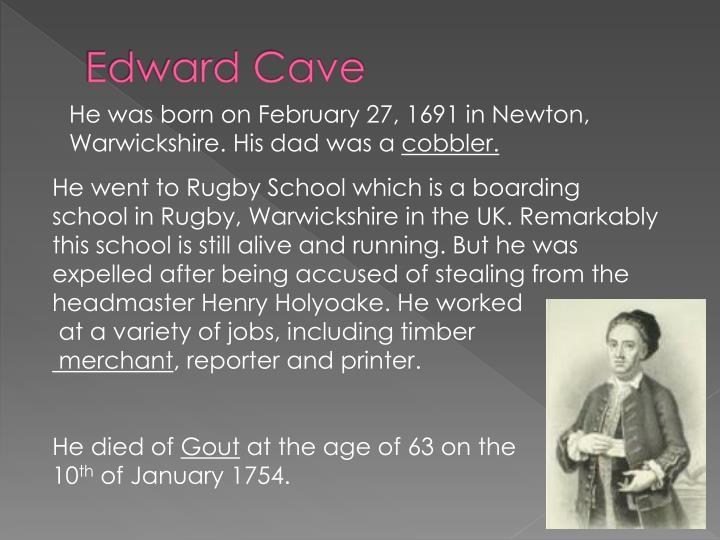 Edward Cave