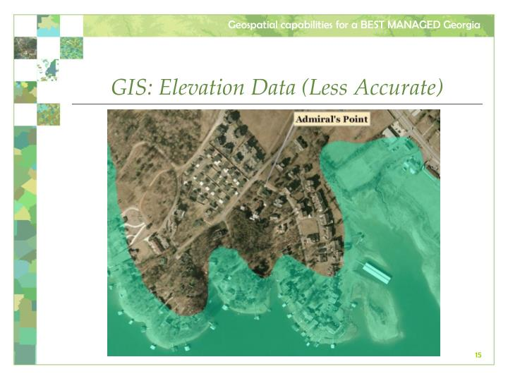 GIS: Elevation Data (Less Accurate)