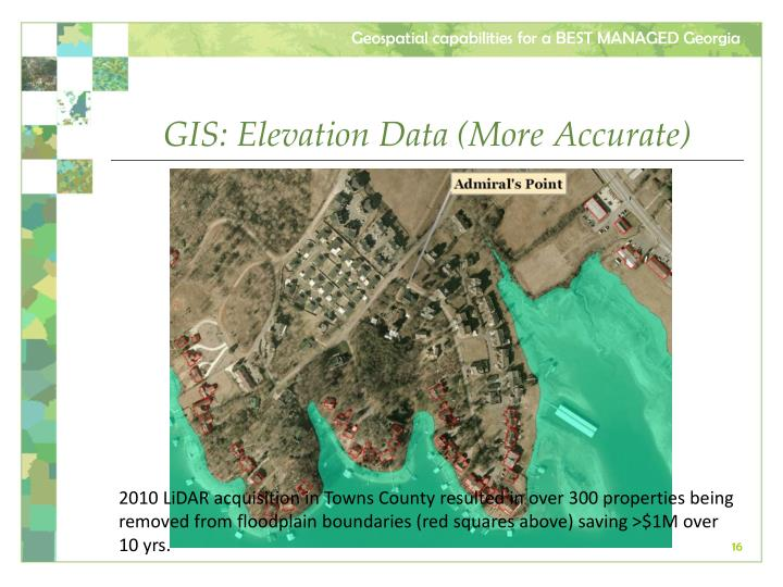 GIS: Elevation Data (More Accurate)