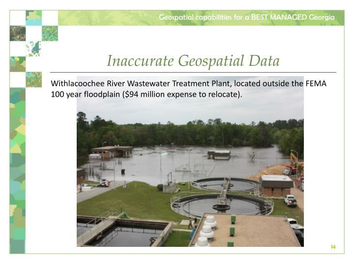 Inaccurate Geospatial Data