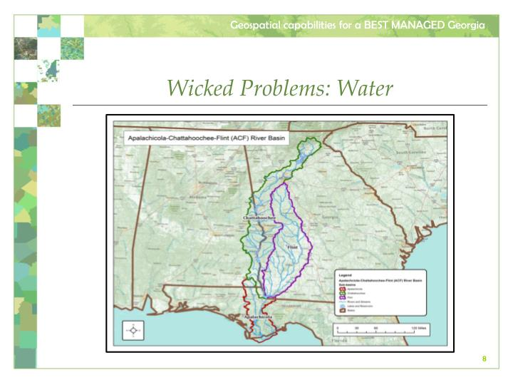 Wicked Problems: Water