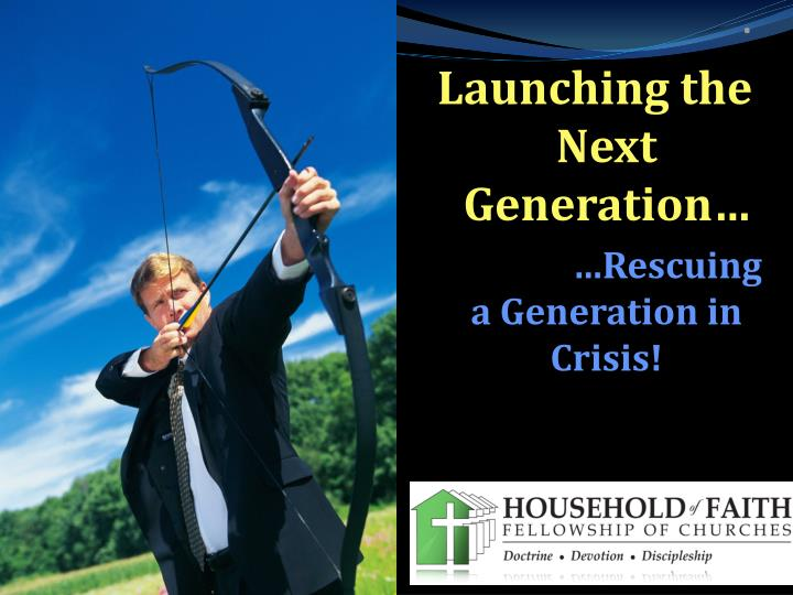 Launching the next generation rescuing a generation in crisis
