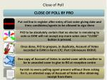 c lose of poll1
