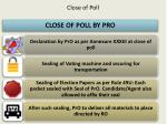 c lose of poll2