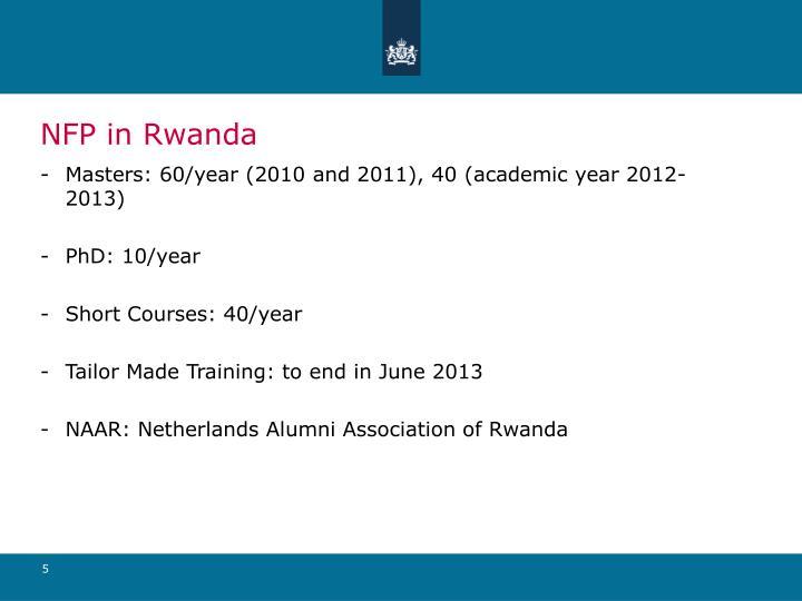 NFP in Rwanda