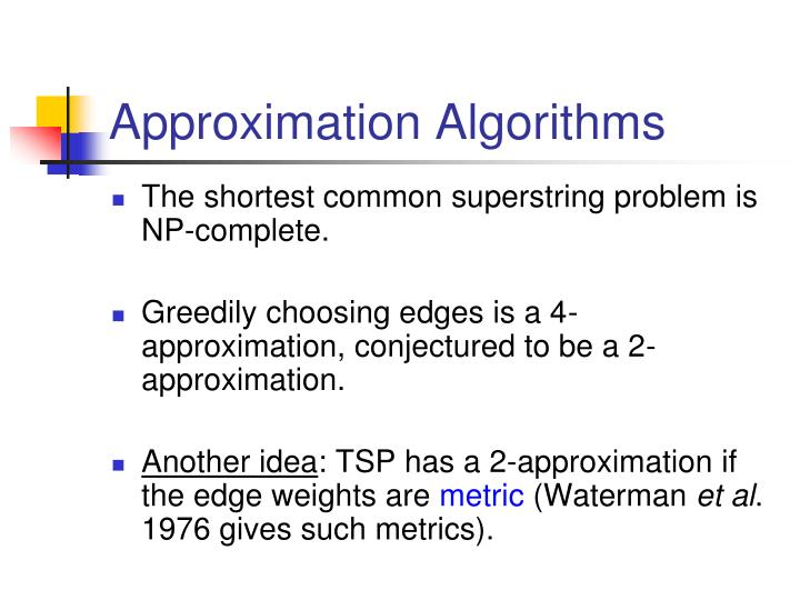 Approximation Algorithms