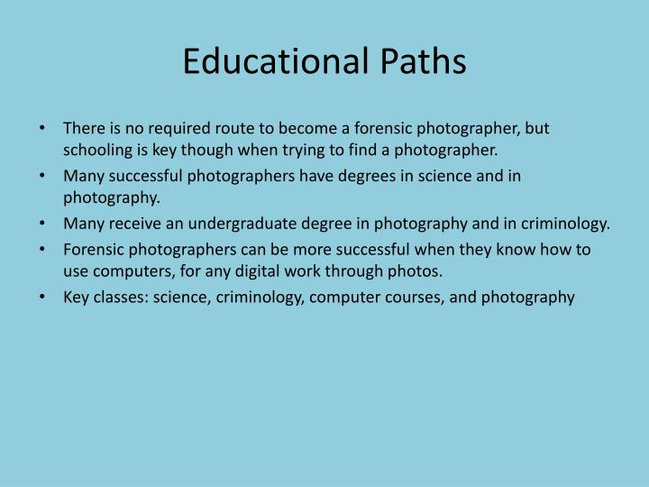 Educational Paths
