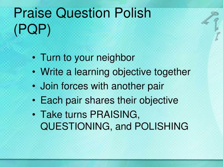 Praise Question Polish