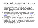 some useful useless facts trivia