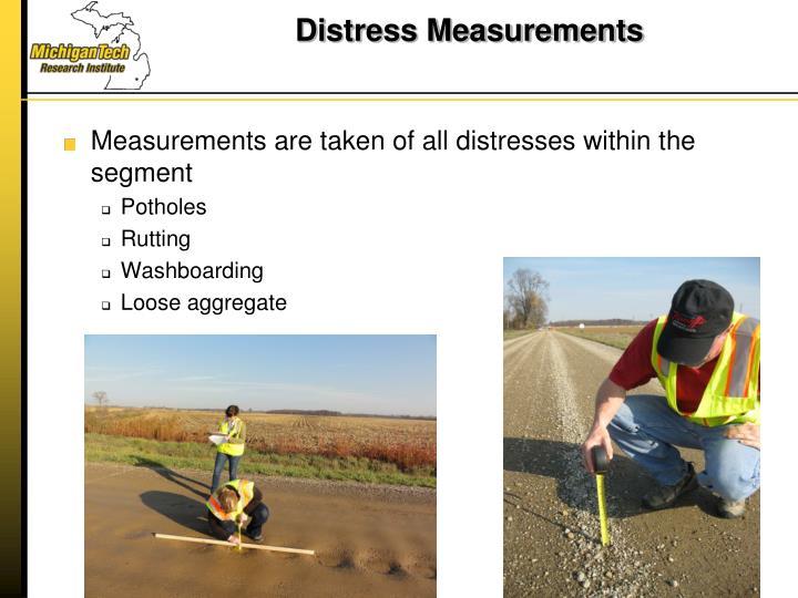 Distress Measurements