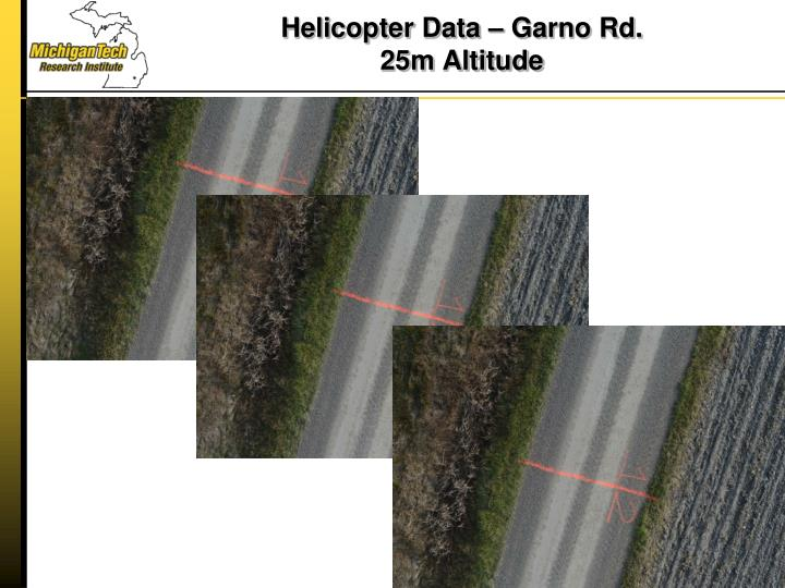 Helicopter Data –
