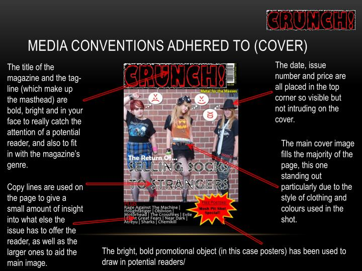Media Conventions Adhered To (Cover)