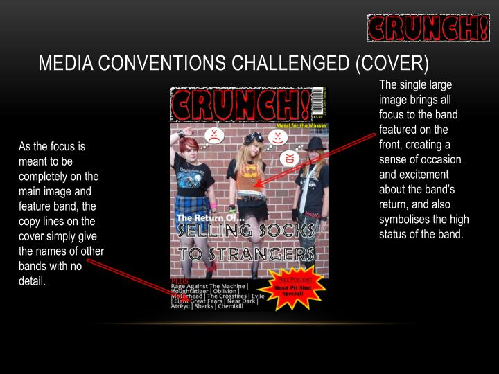 Media Conventions Challenged (Cover)
