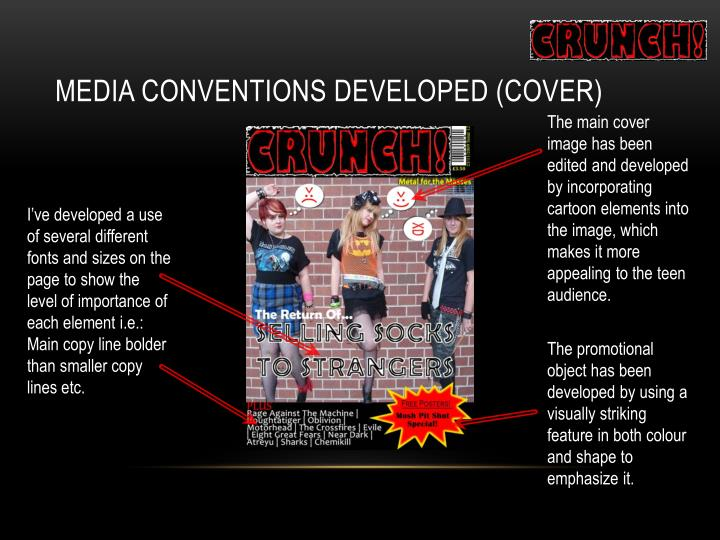 Media Conventions Developed (Cover)