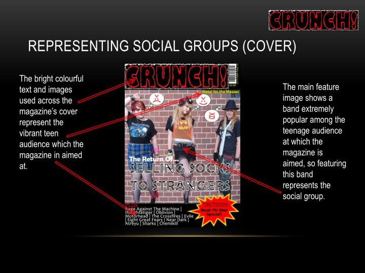 Representing Social Groups (Cover)