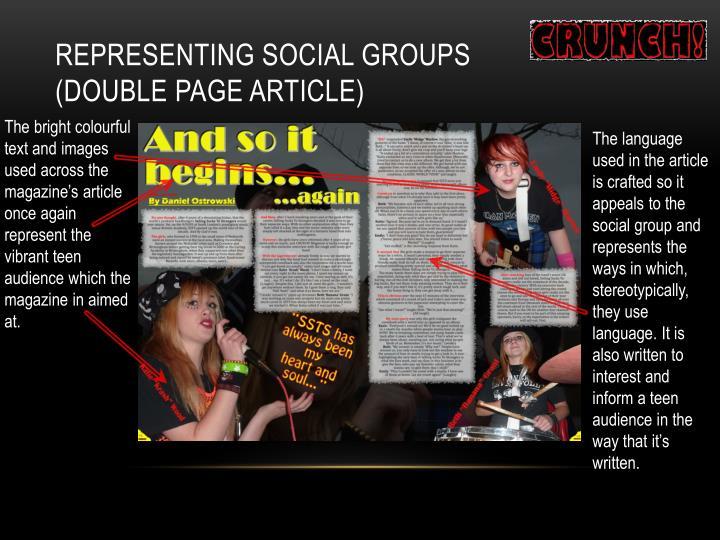 Representing Social Groups