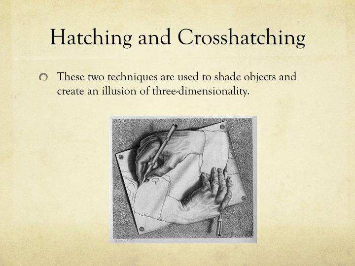 Hatching and Crosshatching
