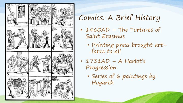 Comics: A Brief History