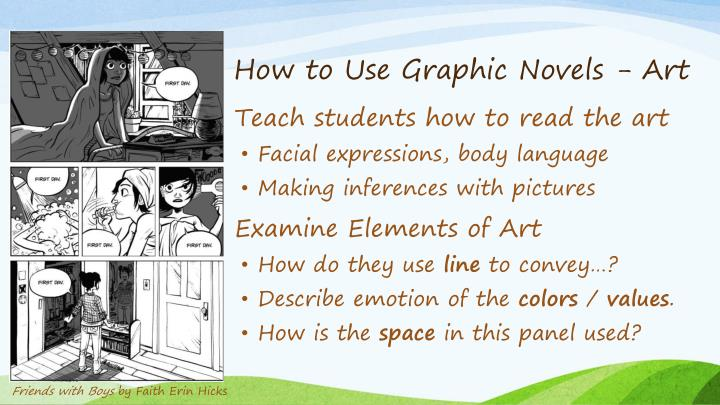 How to Use Graphic Novels - Art
