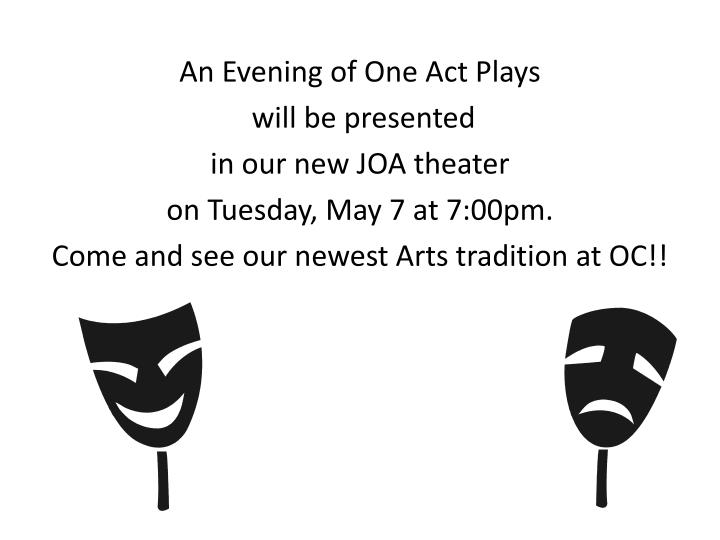 An Evening of One Act Plays