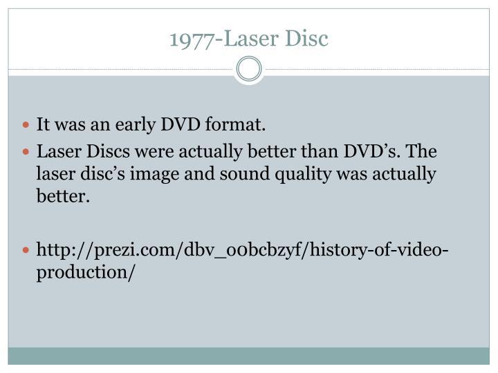 1977-Laser Disc
