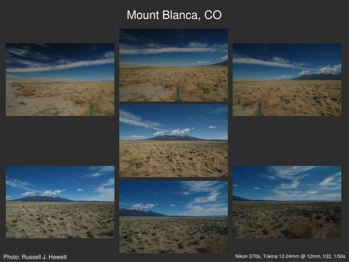Mount Blanca, CO
