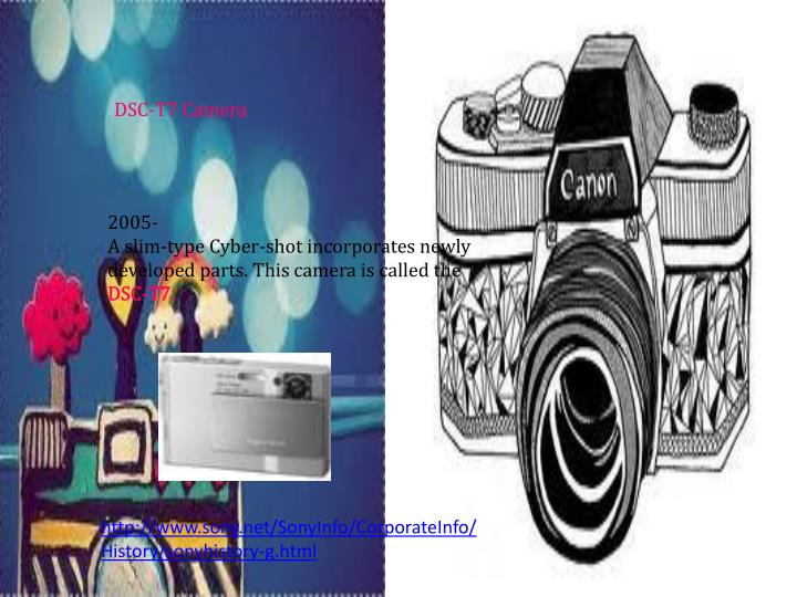 DSC-T7 Camera