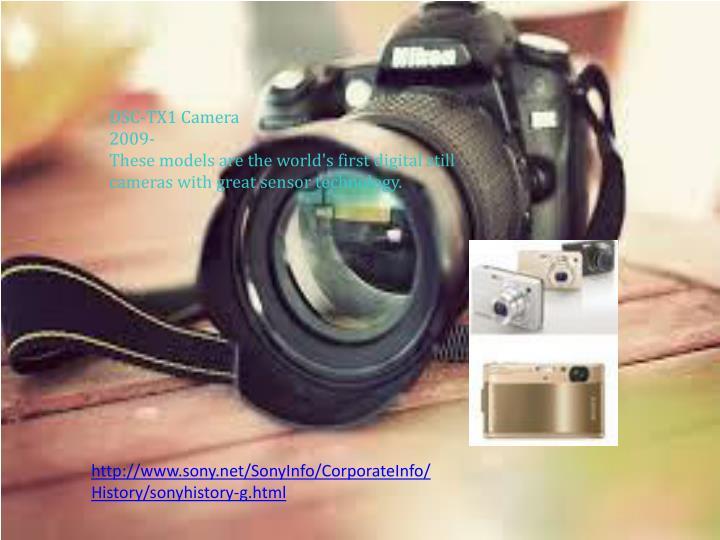 DSC-TX1 Camera