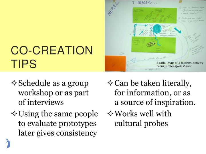 CO-CREATION TIPS